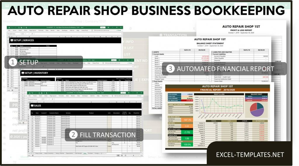 Auto-Repair-Shop-Bookkeeping-Template